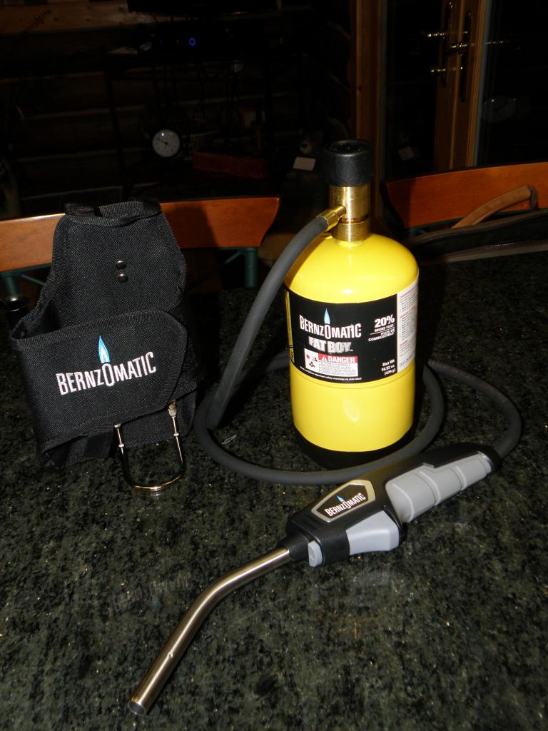 Important   Bernzomatic/Worthington Propane Torches - The