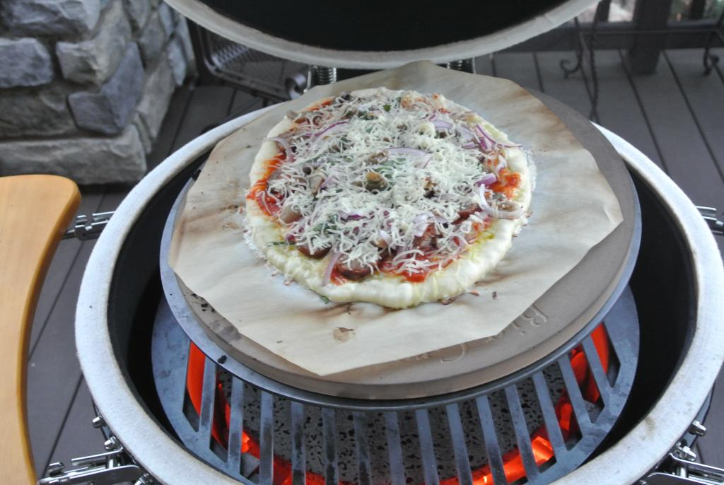 Grill Configuration For Pizza Kamado Cooking And