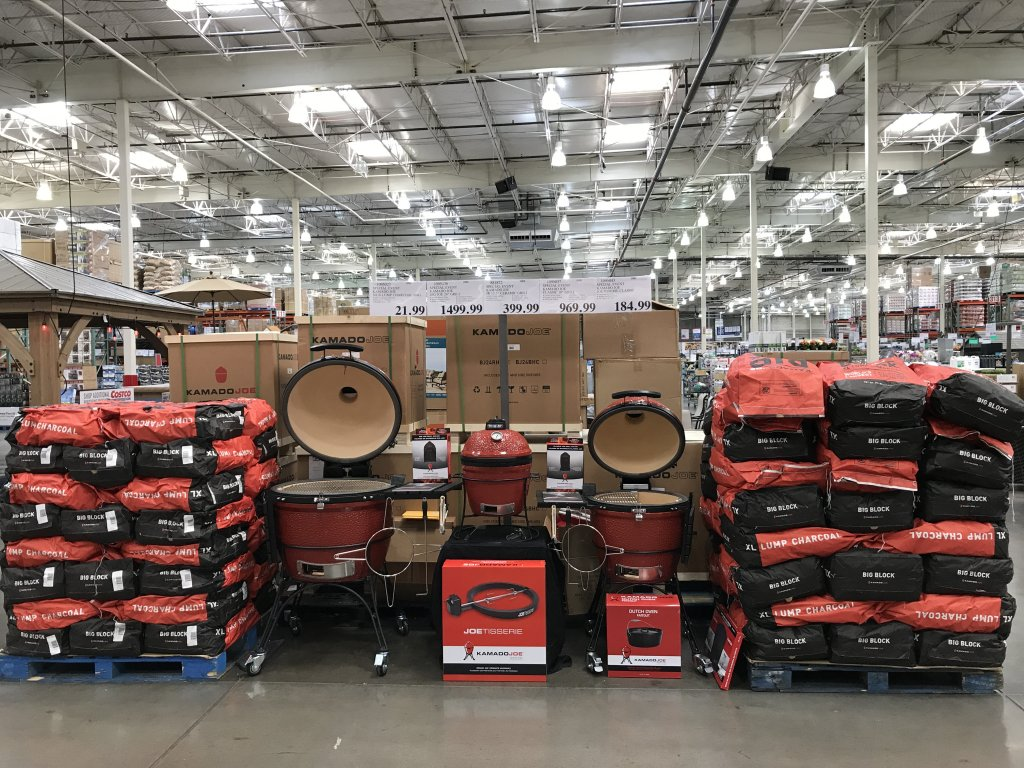 attractive Costco Kamado Grill Part - 19: Please spread the word to anyone who may not be on the Guru.  Neighbors,Eggheads etc. Thanks.