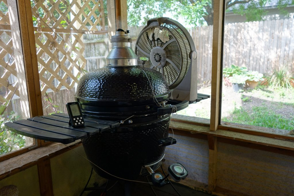 Covered Patio Question Kamado Cooking And Discussion Kamado Guru