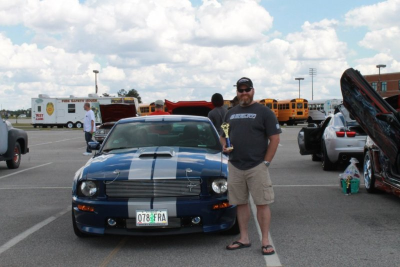 Grays Greek Car Show Second Place Overall.JPG